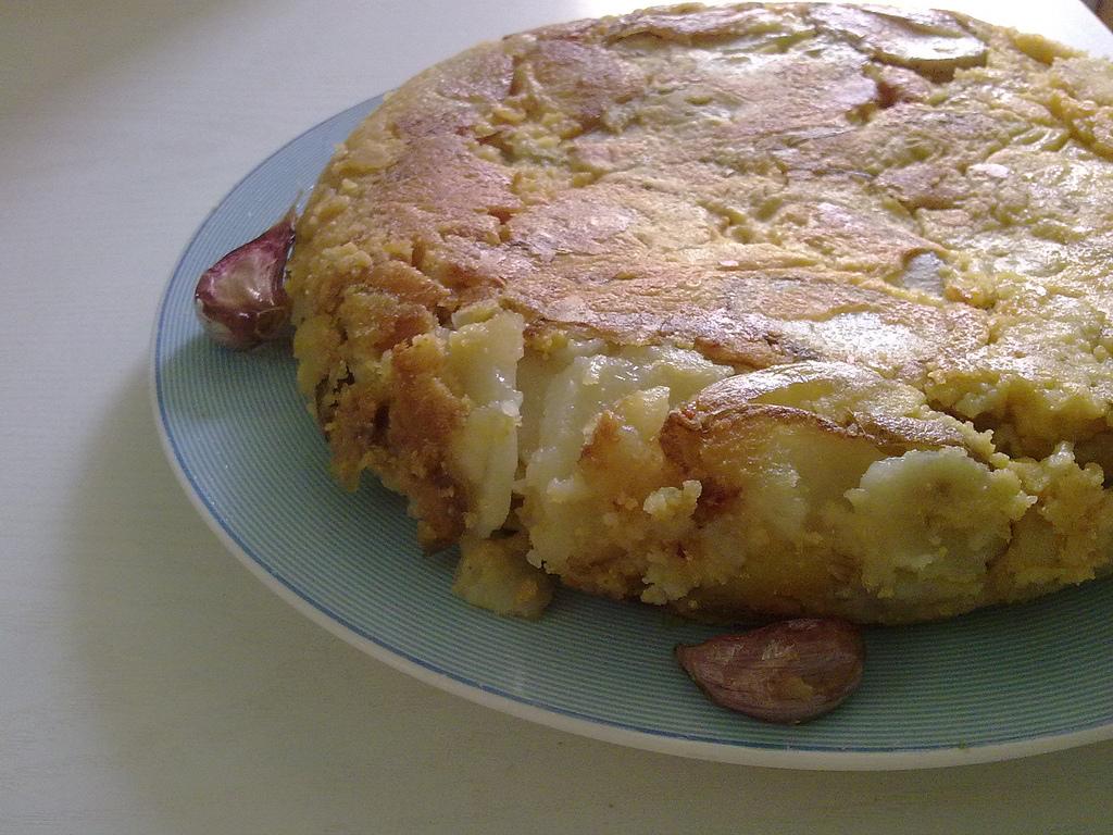 tortilla de patata vegana