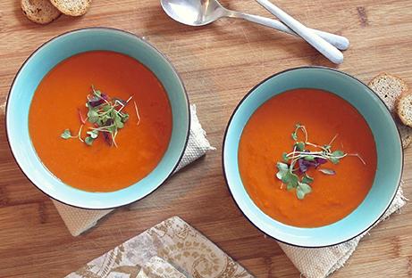 sopa de tomate cati palou