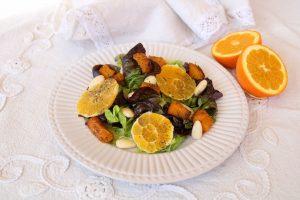 ensalada templada de naranja